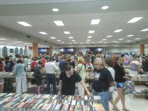 This year's OP booksale.