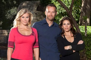 Alison, Bob, and Jillian of NBC's The Biggest Loser.