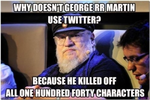 Game of Thrones creator George RR Martin loves to kill off characters!