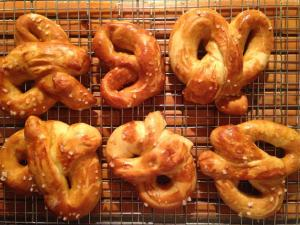 Oh, how I miss you homemade pretzels!